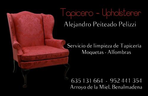 Tarjeta Tapicero