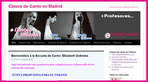 Escuela de Canto: Elizabeth Dolinska